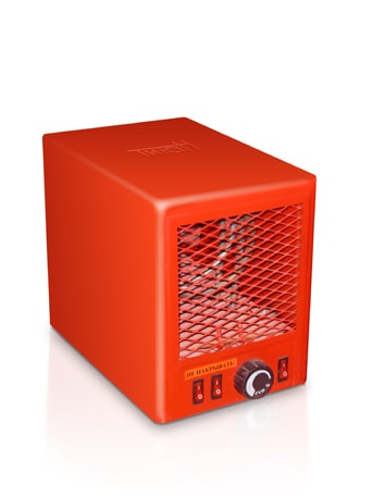 Тепловентилятор электрический Титан 5 кВт 220 В 2 ступени