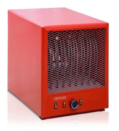 Тепловентилятор электрический Титан 3 кВт 380 В 1 ступень